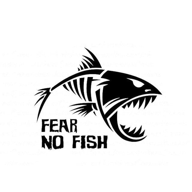 13 2cm 10 2cm skeleton fish bones fear no fish fishing for Fear no fish