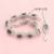 ASHLEY Black Safira Criado Banhado Conjuntos de Jóias de Prata Para As Mulheres Bijuteria Brincos Pulseira Anel Colar de Pingente de Caixa Livre