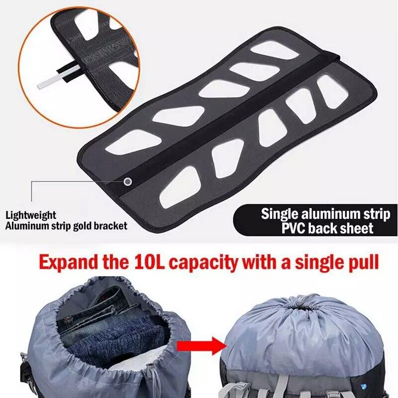 Chevalier gratuit 60l randonnée en plein air sacs à dos sac à dos Sport sac à dos voyage escalade sacs imperméable Trekking Camping sac à dos - 5