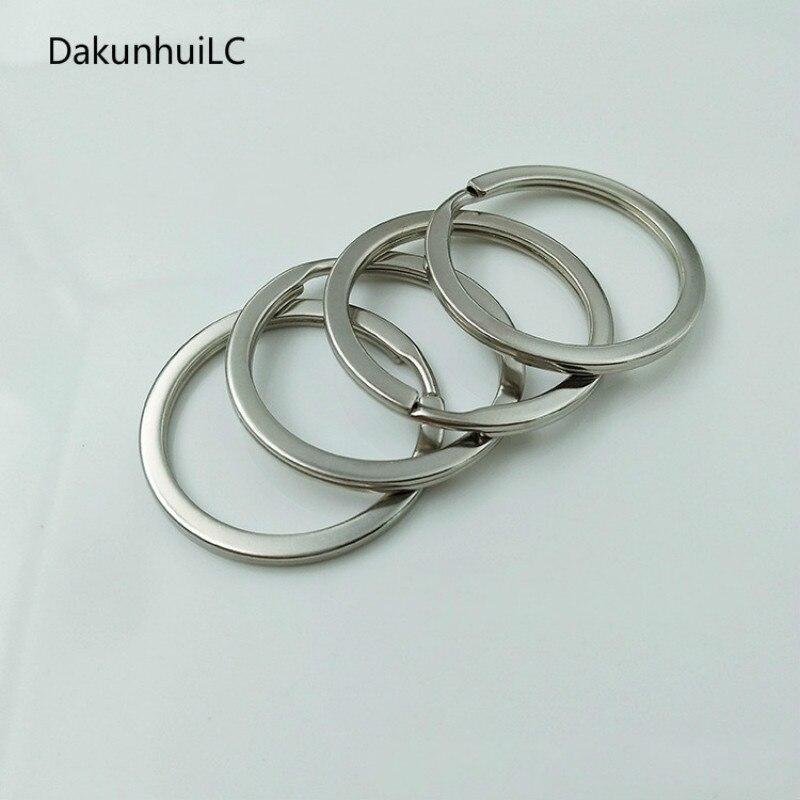 1 Stücke 32mm Metall Schlüssel Halter Split Ringe Unisex Schlüsselring Keyfob Zubehör Freies Verschiffen