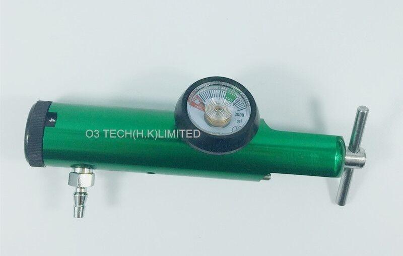 Oxygen Regulator/Flowmeter CGA 870 for Medical Oxygen Bottle
