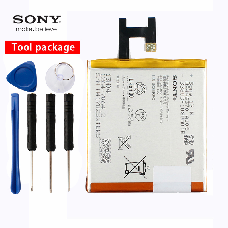 Original Sony High Capacity Phone Battery For sony Xperia Z L36h LTE C6602 C6603 L36i L36 LT36 LT36i LT36H 2330mAh LIS1502ERPCOriginal Sony High Capacity Phone Battery For sony Xperia Z L36h LTE C6602 C6603 L36i L36 LT36 LT36i LT36H 2330mAh LIS1502ERPC