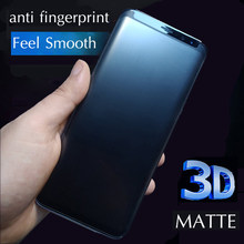 3D 9H Matte Tempered Glass For Samsung Galaxy S8 S9 Plus Note 8 9 S10e S7 edge S