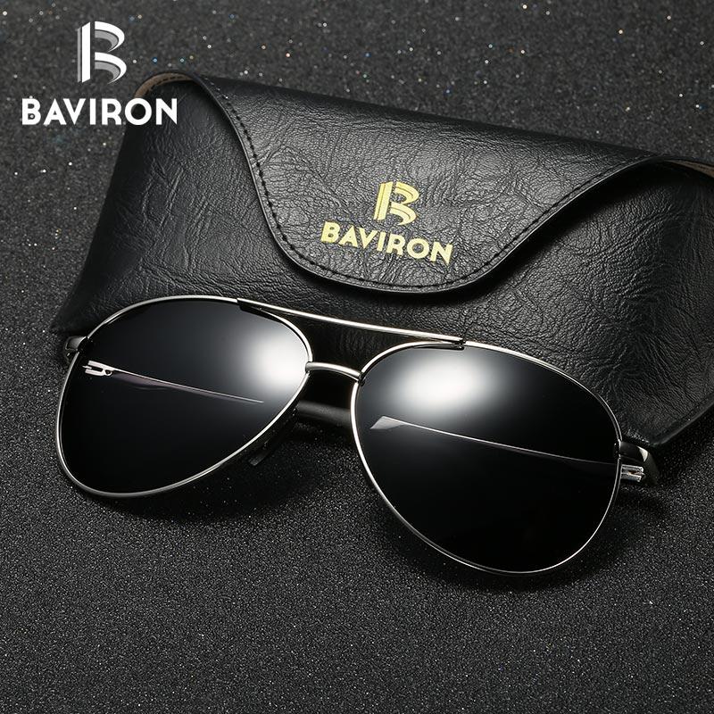 BAVIRON Aviator Sunglasses Men Polarized Sunglasses Mujeres Piloto - Accesorios para la ropa - foto 1