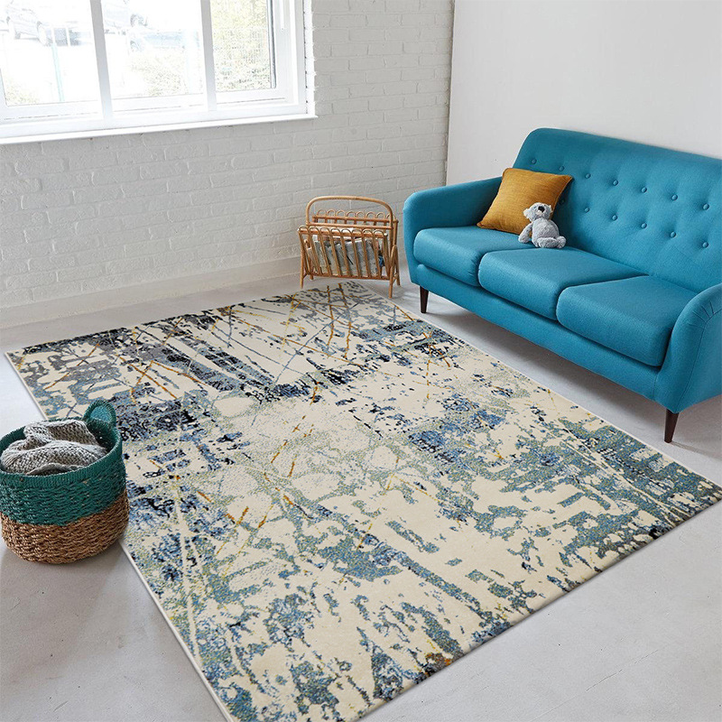 Villa Abstract Carpet Living Room Soft Coffee Table Rug
