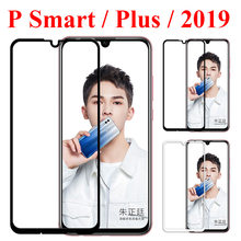 Protective glass on the for huawei p smart plus 2019 tempered screen protector psmart smartplus huawai huaweii glas film protect(China)