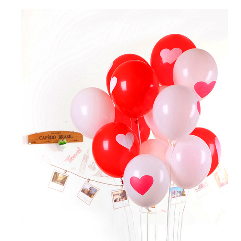 send random 10pcs/Lot 12inch 3.2g/Pc Latex Helium Ball Ballon Wedding Party Birt