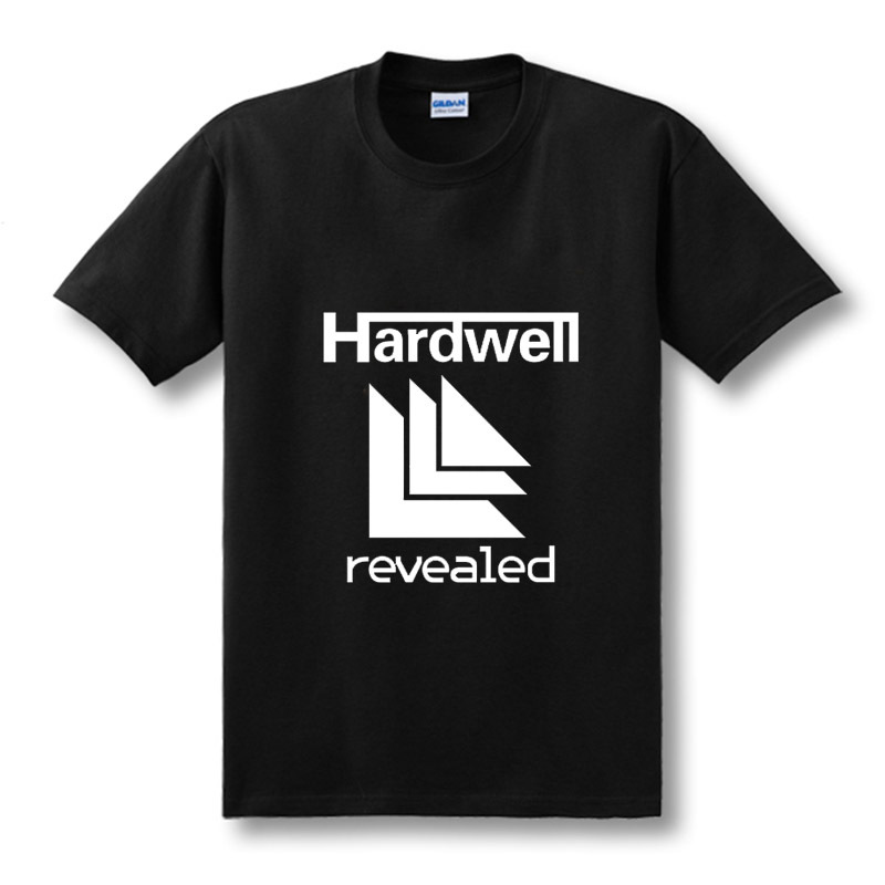 2019 NEW GO HARDWELL OR GO HOME Music DJ   T  -  shirts   Men   T     Shirts   Man Short Sleeve Size XS-XXL
