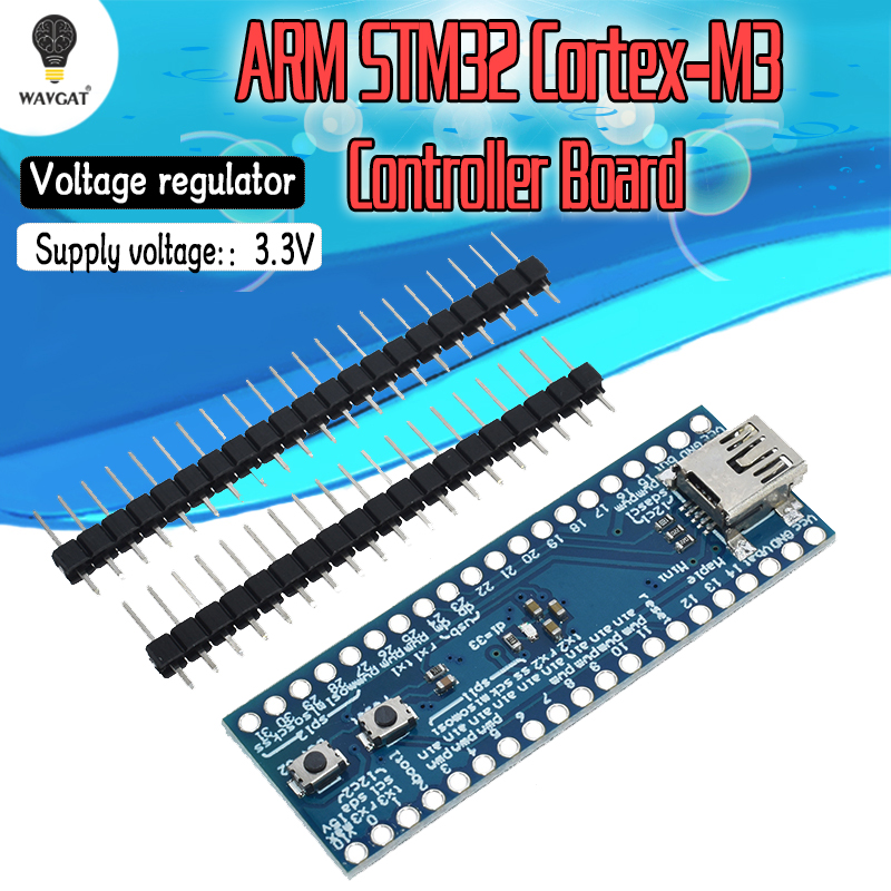 STM32F103CBT6 Maple Mini ARM STM32 Cortex-M3 Minimum System Development Board 3.3V USB Digital IO PWM Pins Port For Arduino