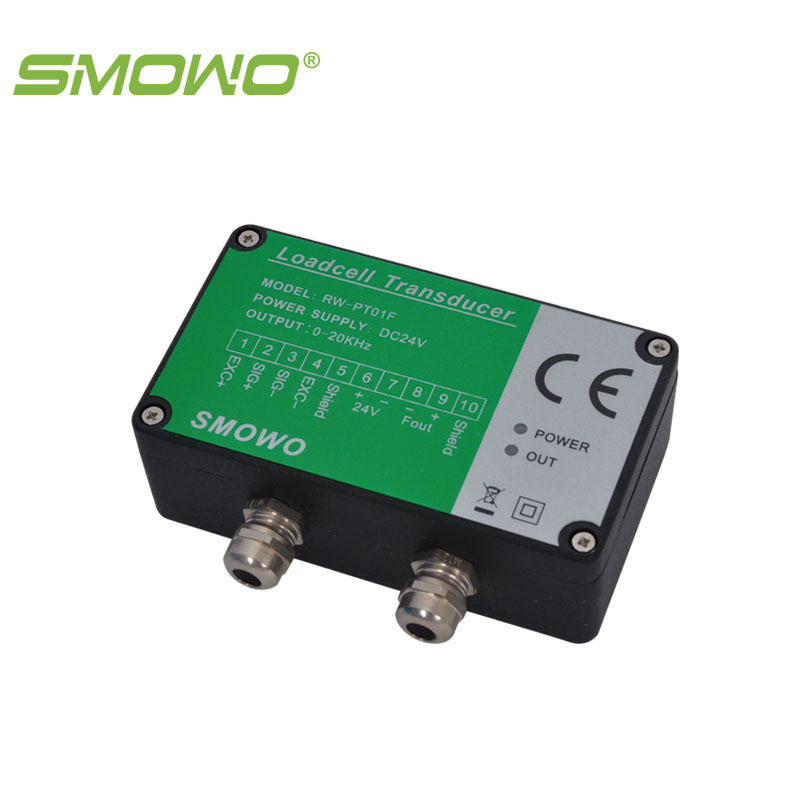 frequency output precision strain gauge load cell transmitter transducer amplifier  RW-PT01F smowo pressure sensor output amplifier 0 10v 4 20ma transmitter rw st01a weighing force measurement balance load cell amplifier