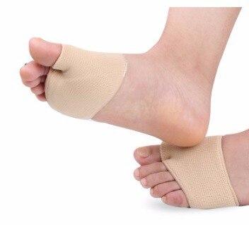 Protetor de pé Gel almofada antepé metatarso dolorosas Manga plano splay pé  calos cuidados com os pés ferramenta de alívio de pressão em Ferramenta De  ... 2337fc0199370