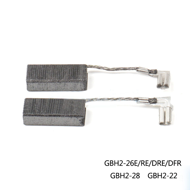 CARBON BRUSHES For Bosch GBH2-22 GBH2-26E/RE/DRE/DFR GBH2-28 Electric Hammer , High-quality ! перфоратор sds plus bosch gbh 2 26 dre