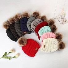 Женская Бейсболка для горного туризма, альпинистская шапка, шапочка, помпон из искуственного меха, помпон для шапок, вязаная шапка, Теплая Лыжная Шапка, модная мягкая брендовая Толстая