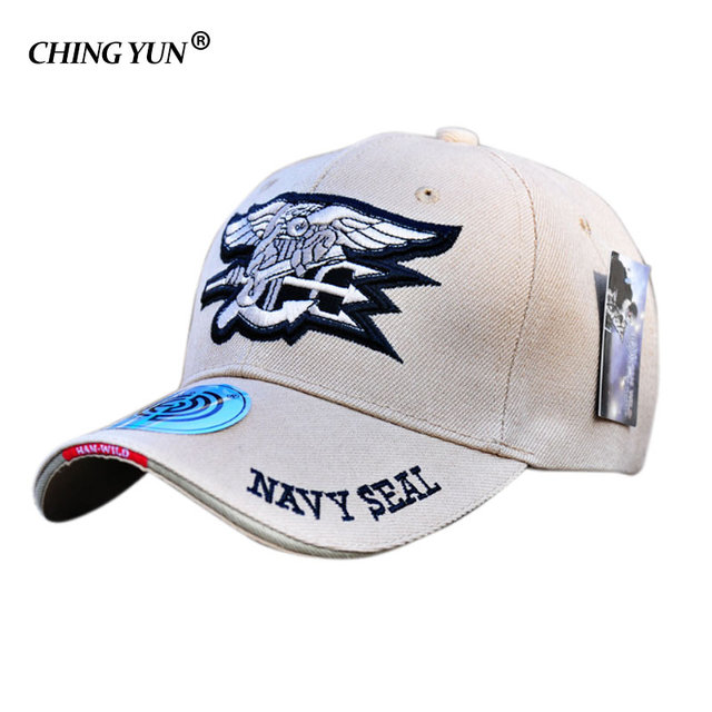 2d7e4449b9148 Summer baseball cap outdoor Leisure cap snapback men women hats embroidered  hat US Navy seals logo fashion