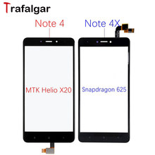 For Xiaomi Redmi Note 4 Touch Screen Digitizer Front Glass Panel Note4 Pro 4X Touchscreen For Xiaomi Redmi Note 4 Touch Screen(China)