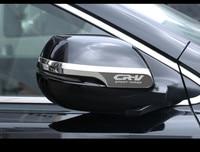2PCS Set For HONDA CRV CR V 2017 2018 Exterior Decoration Car Styling Chrome Door Rearview