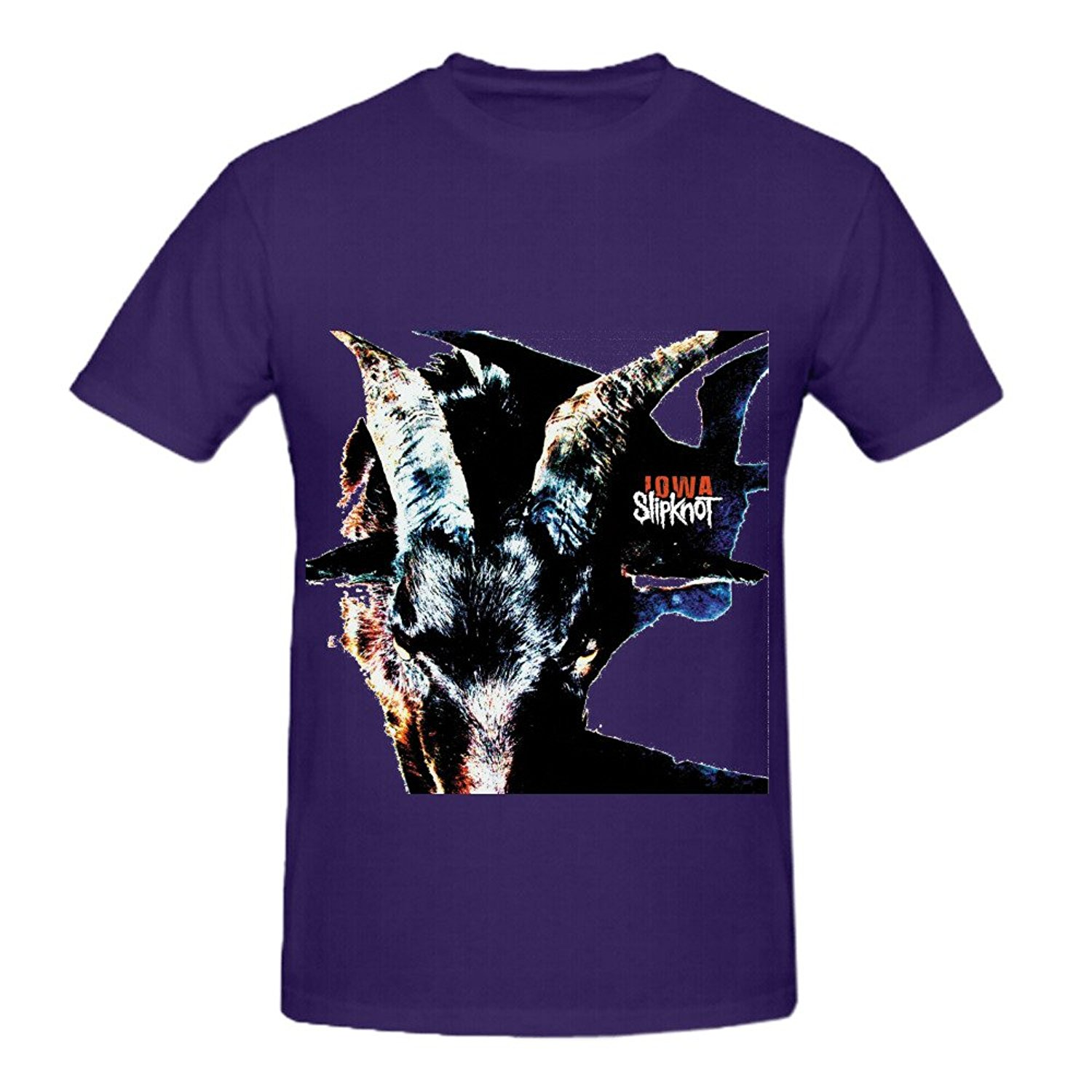 US $12 25 |Gildan Slipknot Iowa 80s Album Cover Men Crew Neck Design T  Shirts-in T-Shirts from Men's Clothing on Aliexpress com | Alibaba Group