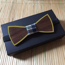 Wooden Bow Tie Wedding Style