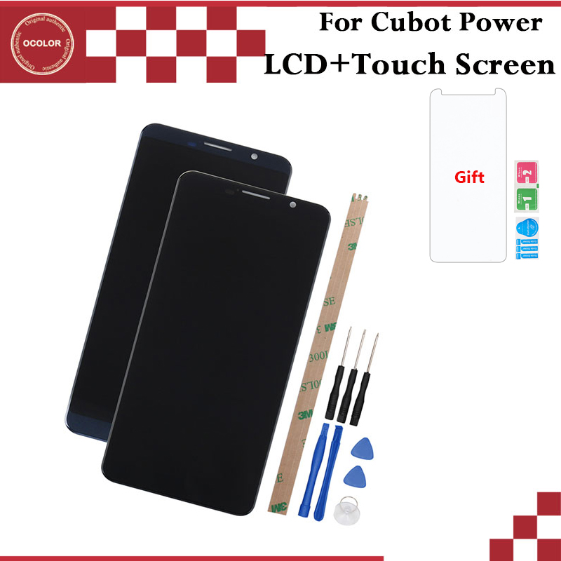 ocolor For Cubot Power LCD Display and Touch Screen 5 99 inch Mobile Phone Accessories For