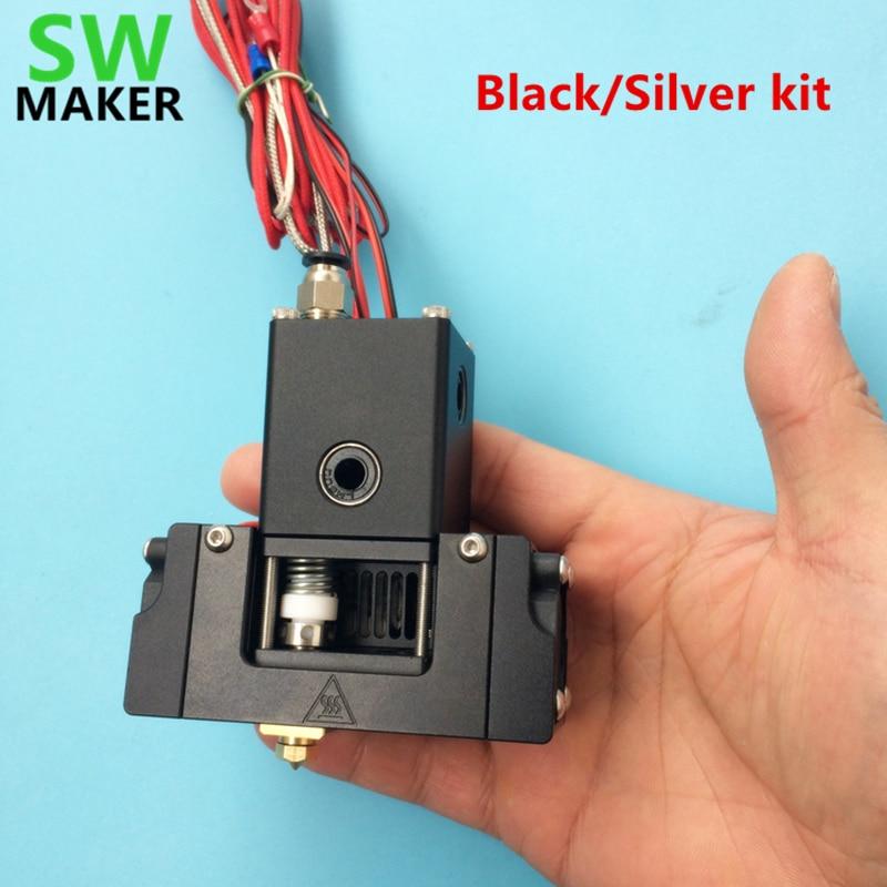SWMAKER New Type UM2+ Ultimaker2+ 3D Printer Single Head Hot End Kit Extruded Head All Metal Printing Head Set