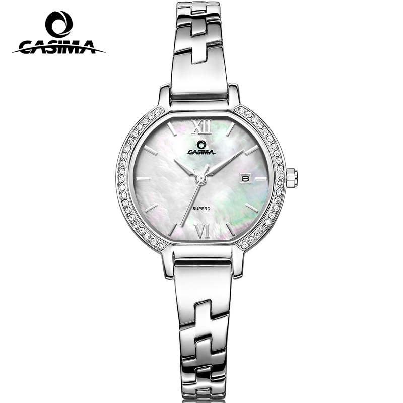 2017 CASIMA luxury brand Bracelet watches women Fashion casual ladies quartz wrist watch women's waterproof relojes mujer 2614 1 2