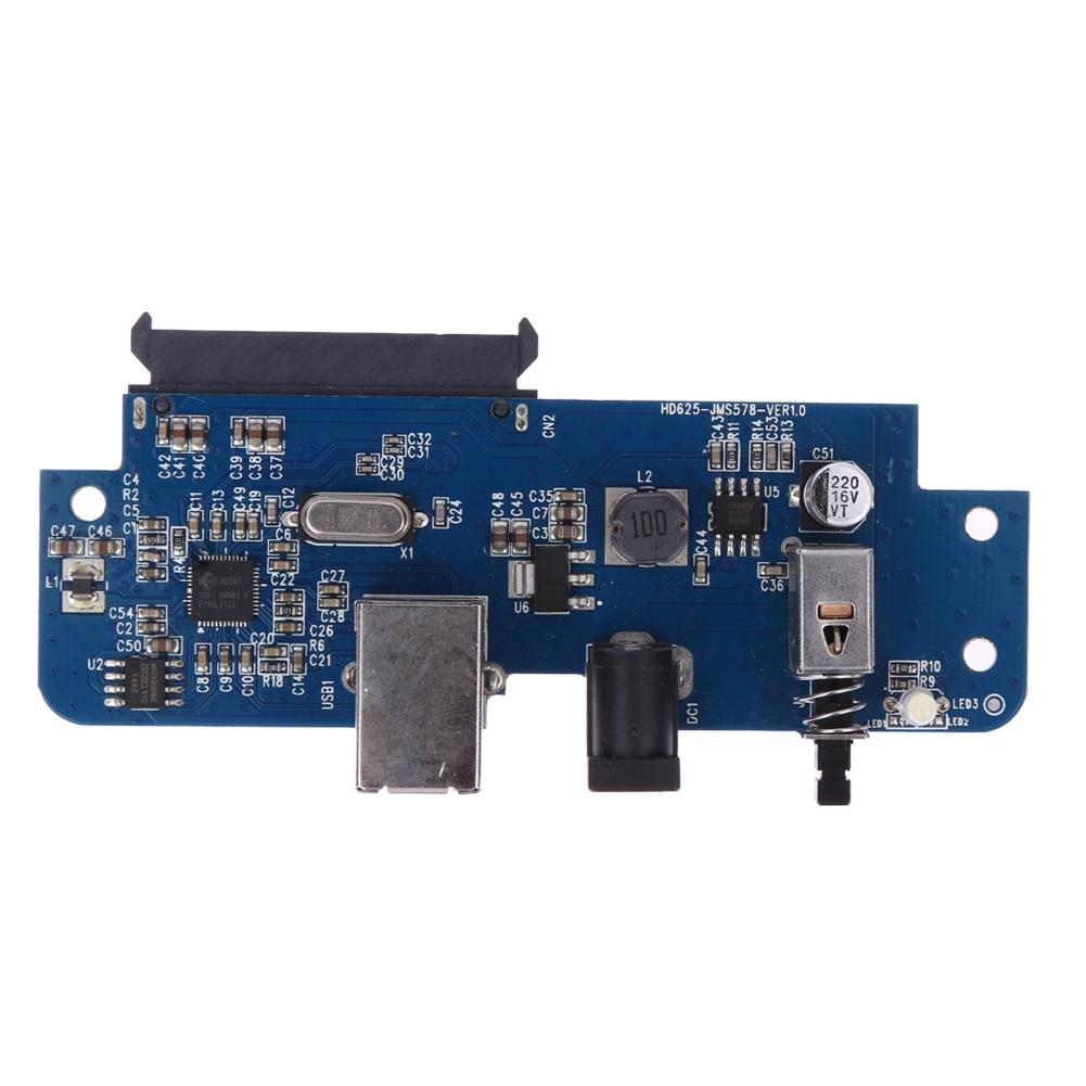 Adaptador de tarjeta USB 3,0 a SATA para extensor de 3,5 pulgadas/2,5 pulgadas HDD adaptador de tarjeta de alta calidad