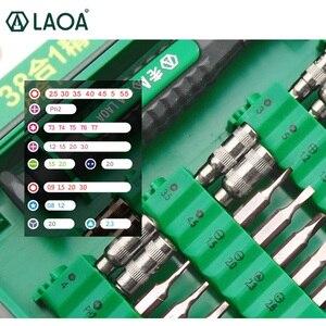 Image 2 - LAOA 38 in 1 ремонт ноутбука инструменты Kit точные отвертка набор ручных инструментов для сотовых телефонов, ноутбук быстро судоходства, ремонт  набор отверток LA613138