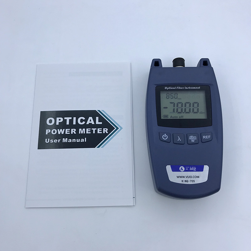 Image 3 - FTTH Mini Optical Power Meter King 70S Type A OPM Fiber Optical  Cable Tester  70dBm~ 10dBm SC/FC Universal interface Connector-in Fiber  Optic Equipments from Cellphones
