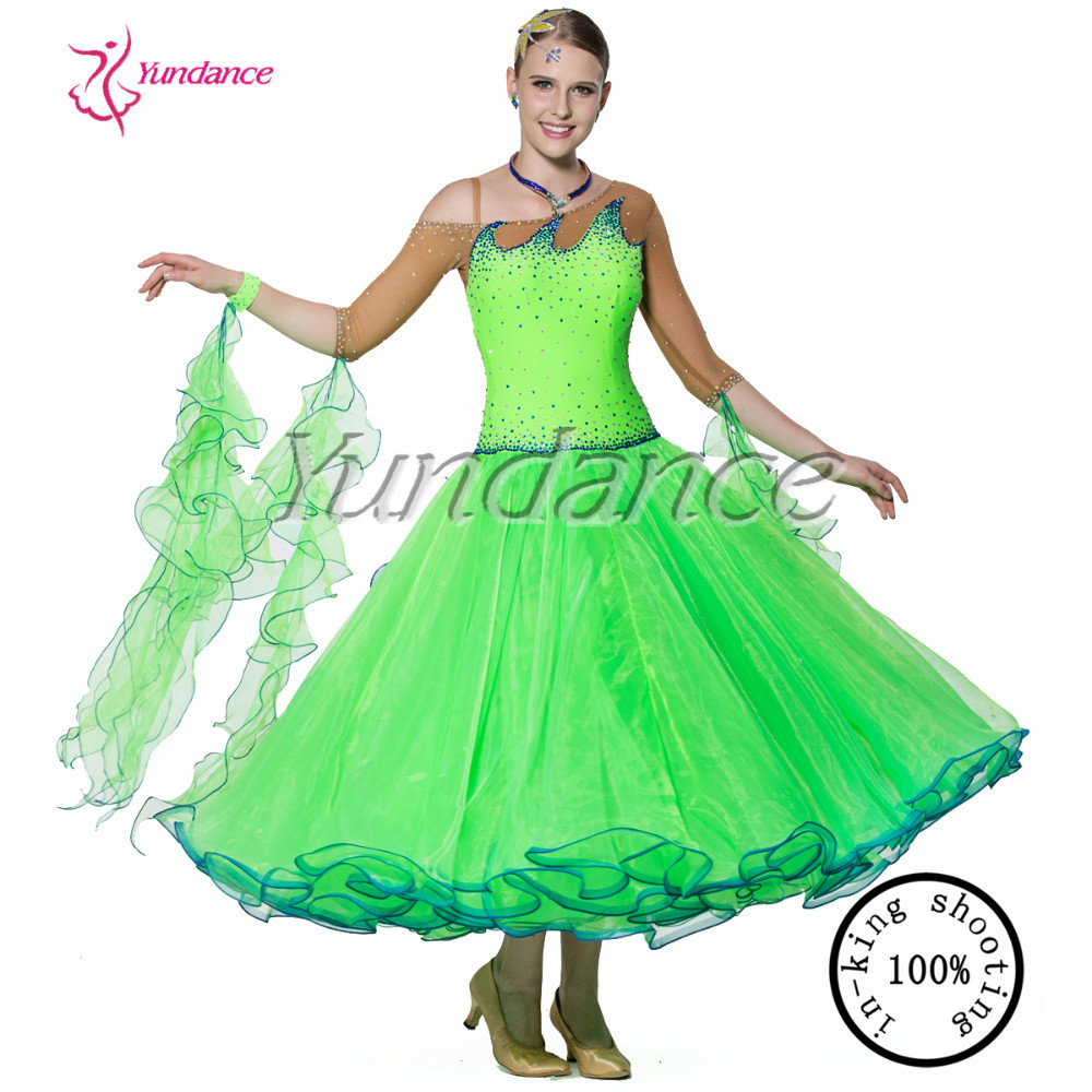 waltz dancing dress for girls competition B-13267