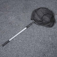 Newly Aluminum Alloy Fishing Net Brail Landing Foldable Telescoping Retractable Pole Tackle net C55K Sale