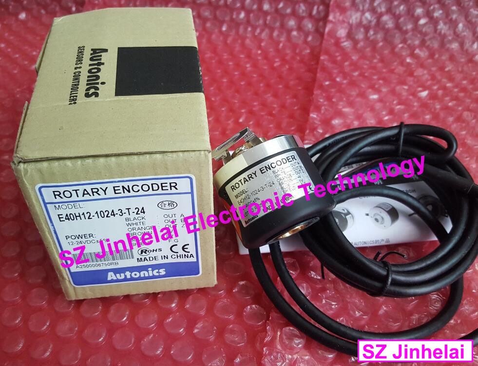 E40H12-1024-3-T-24, E40H12-500-3-T-24 New and original AUTONICS ENCODER 12-24VDC original new 100% special sales import technology encoder e40h12 360 3 t 24