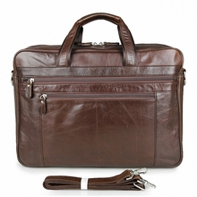 Genuine Leather Business Handbag / Shoulder Bag for Men