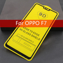 9D Full Glue Screen Protector For OPPO F7 Tempered Glass Full Cover Protective Film For OPPO R15 OPPO A3 Phone Fundas Glass цена и фото