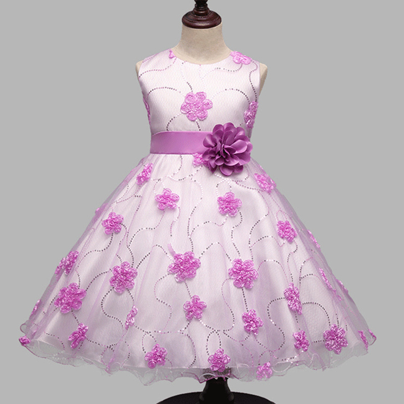 Aliexpress.com : Buy Teenage Girls Dresses Clothes Kids Wedding ...