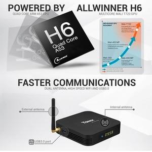 Image 3 - สมาร์ททีวีกล่องAndroid 9.0 Tanix TX6 Allwinner H6 Quad Core 4GB RAM 64GB ROM 32G 4K 2.4G/5GHz Dual WiFi Set Top Box