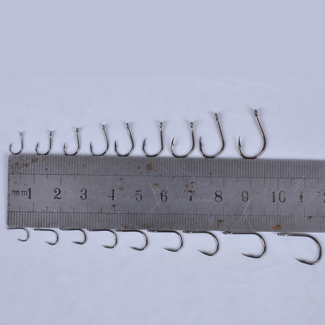 600 Pack Fish Hooks with Storage Box