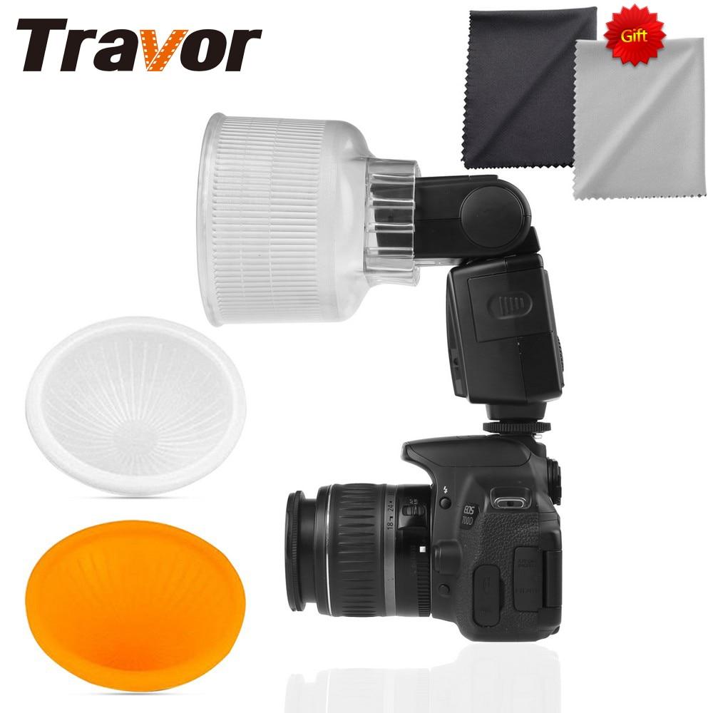 Travor Lambancy Dome Flash Diffuser for NIKON SB600 SB800 with 2pcs Microfiber Lens Cloth