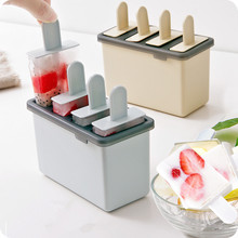 Household ice cream mold set homemade popsicles make sorbet old popsicle maker cold drink model bar