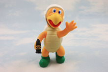Super Mario 12CM Retail Koopa The Quick Hammer PVC Action Figure Classic Model Toy