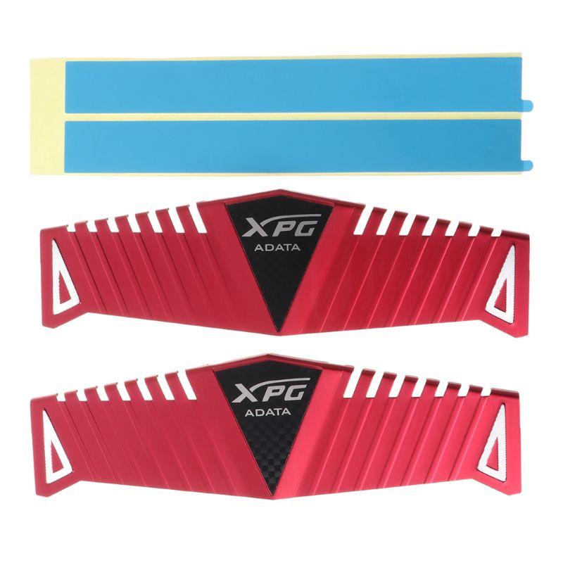 1Set RAM Heatsink Radiator Cooler Cooling Heat Sink For Desktop Memory DDR2 DDR3 DDR4 Heat Dissipation Pad