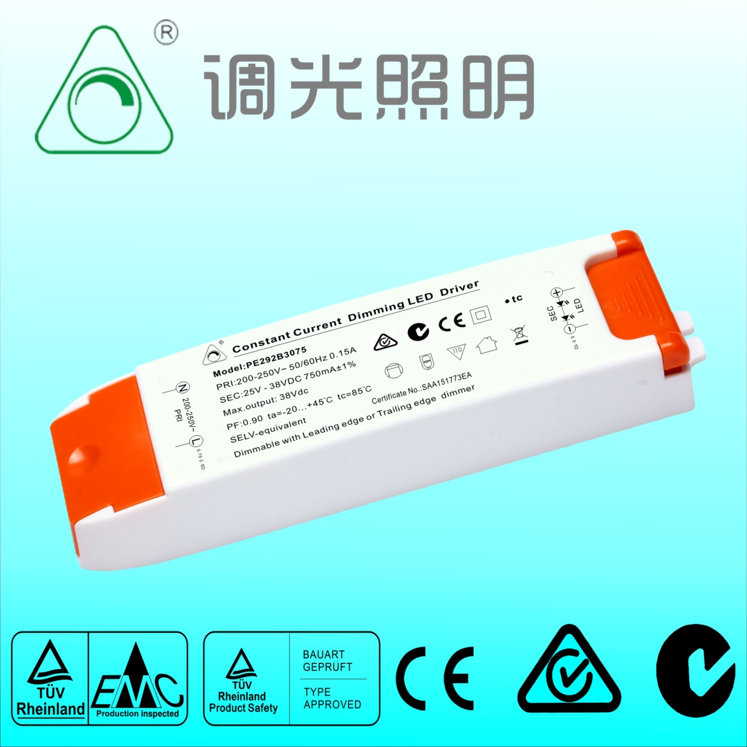 Kingneonlux SCR dimming power supply, LED constant current dimming ...