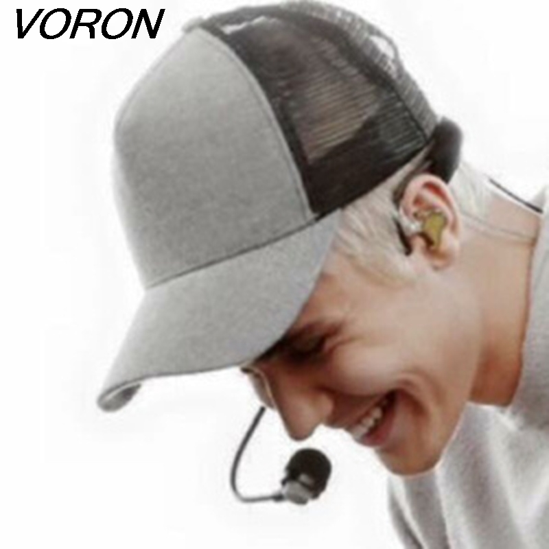 VORON 2017 new justinbieber solid Blank baseball cap with Mesh hip hop Hat Bending brimmed hats  men&women sport snapback cap wholesale spring cotton cap baseball cap snapback hat summer cap hip hop fitted cap hats for men women grinding multicolor