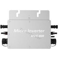 600 Вт сетевой Солнечная Micro Инвертор DC 22 50 В к AC 110 В или 220 В MPPT чистая синусоида с беспроводной связи