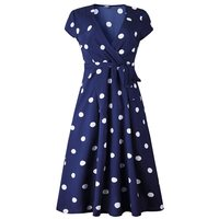 Sisjuly повседневное ретро в горошек платье для женщин Boho Sexy Глубокий V Белый Элегантный праздник Лето 2019 ремень линии Винтаж миди платья для