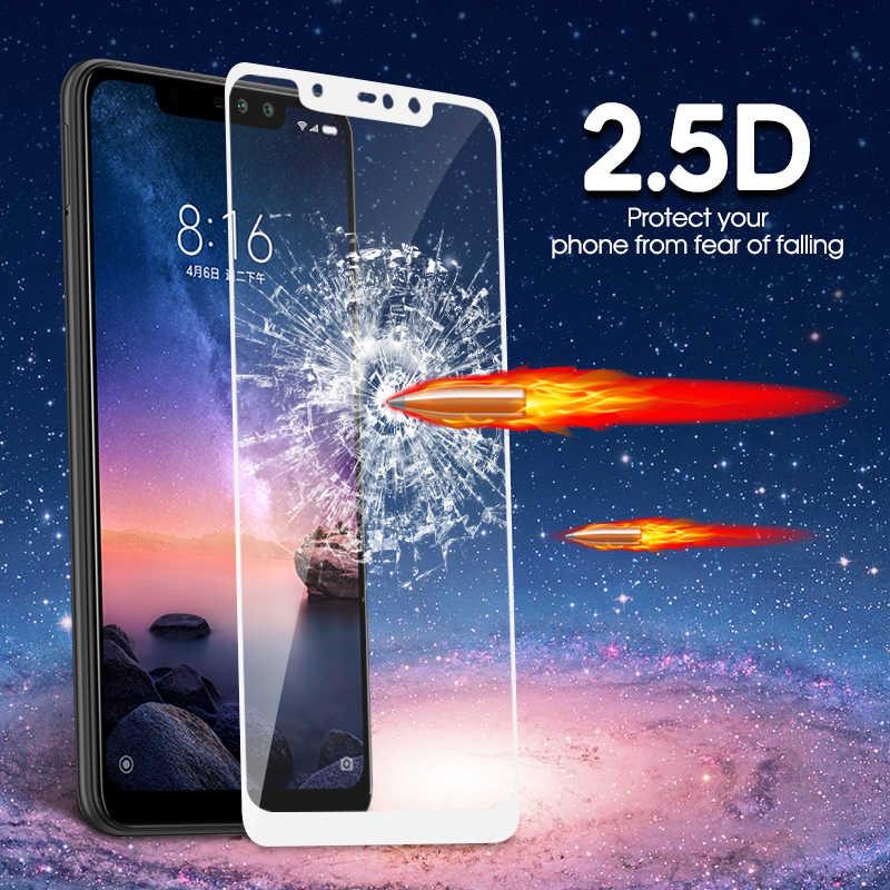 Szkło hartowane dla Xiao mi Red mi Note 7 6 Pro 5 6A 5 Plus mi A2 8 Lite zagraj w folię ochronną przeciwwybuchową