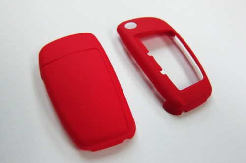 RED Remote Flip Key Cover Case Skin Shell Cap Fob Protection Hull S Line for Audi A3 A4 A6 Q5 Q7 TT R8