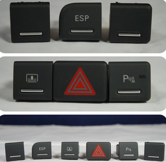 ESP Parking Warning Indicator Switch Danger Alarm Switch Button For Audi A4 B6 B7