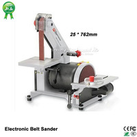 New arrival Electronic Belt Sander Vertical Grinder polishing machine polisher 25 * 762mm