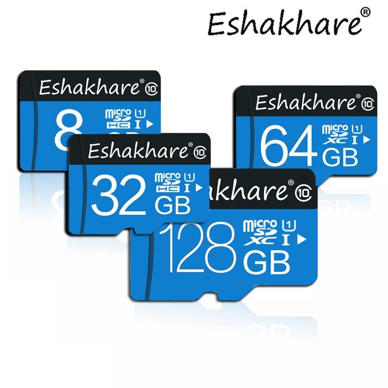 Высокое качество Micro SD Card 4 ГБ 8 ГБ 16 ГБ 32 ГБ 64 ГБ 128 ГБ картао де Memoria tf карты Class10 мини-карты памяти sd card Бесплатная доставка ...