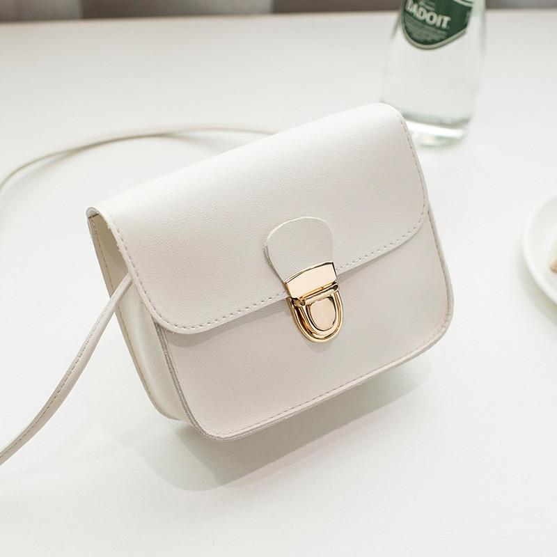 2019 New Fashion Ladies Messenger Bags Cheap Hasp PU Leather Small Shoulder Bags Women Crossbody Bag For Girl Brand Handbags 102